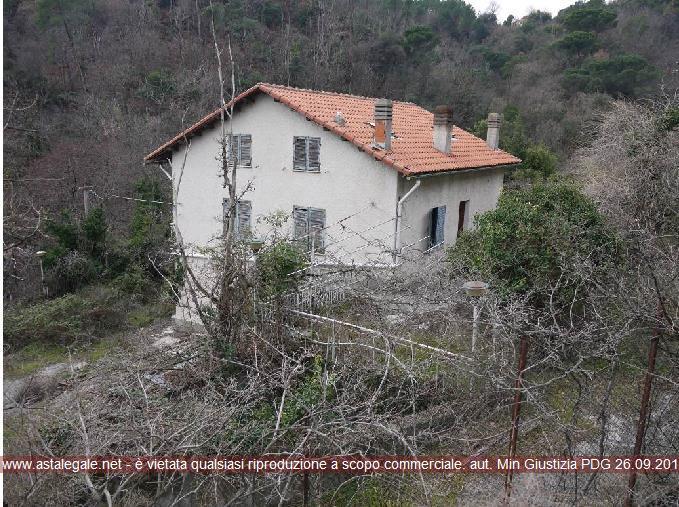 Quiliano (SV) Localita' Viarzo, Via Viarzo