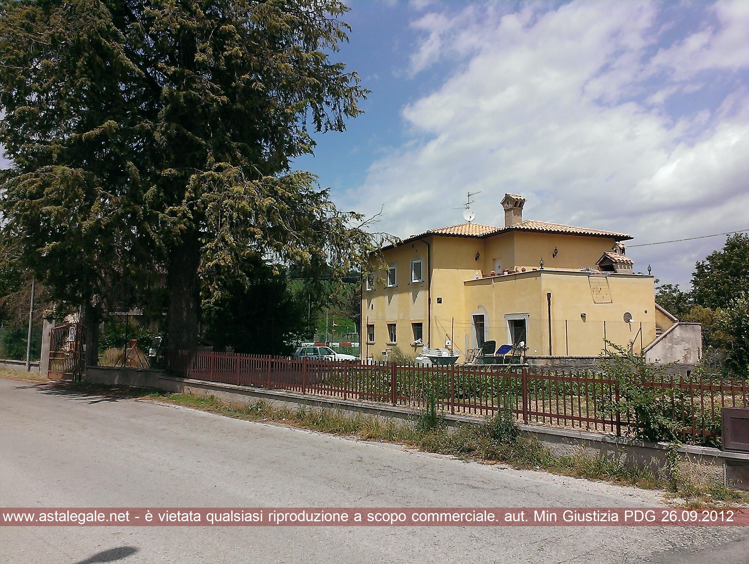 Spoleto (PG) Localita' Morgnano - S. Croce 206