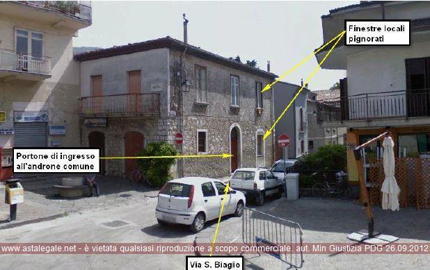 Forino (AV) Angolo fra Piazza Tigli e Vicolo San Biagio snc