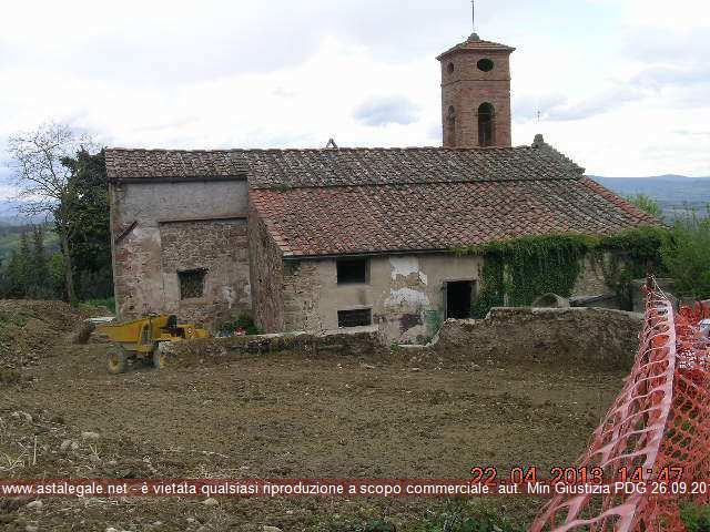 Barberino Val D'elsa (FI) Localita' Vigliano - Strada di S. Lorenzo a Vigliano snc