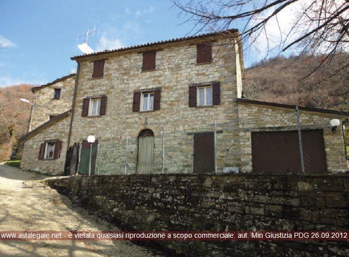 Pennabilli (PU) Strada per Soanne, loc. Borgonuovo 1