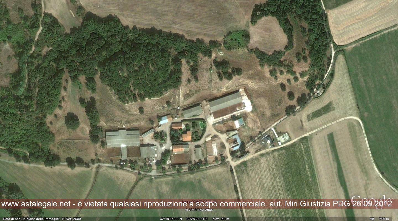Civita Castellana (VT) Localita' PASSO DELLA SIGNORA - CULIANO - Campo del Porto SNC