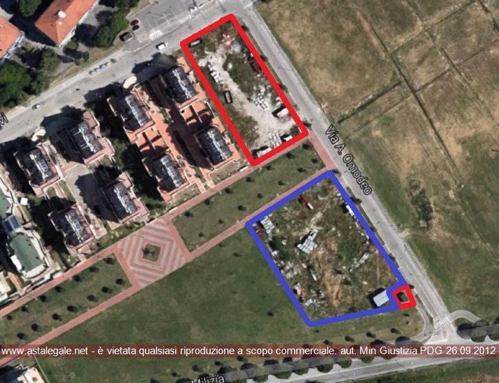 Ravenna (RA) Via Adolfo Omodeo, angolo con Via Antica Milizia
