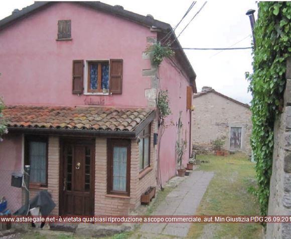Sant'agata Feltria (PU) Localita' Rocca Pratiffi - Via Castello 17