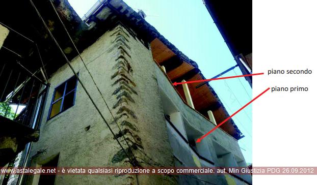 Lillianes (AO) Frazione Capoluogo - Via Roma