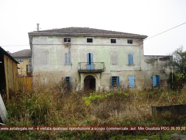 Zibello (PR) Frazione Zibello, via Provinciale n. 5 (in catasto Via Don Luigi Giussani)