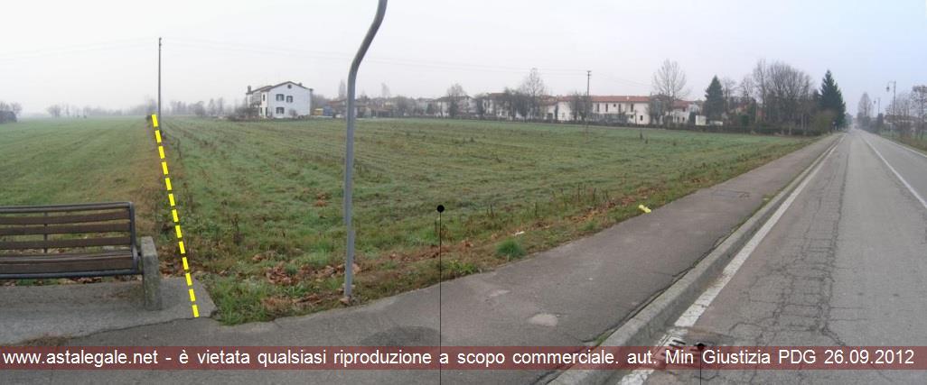 Bolzano Vicentino (VI) Angolo tra Via Chiodo e Via Generale Cadorna snc