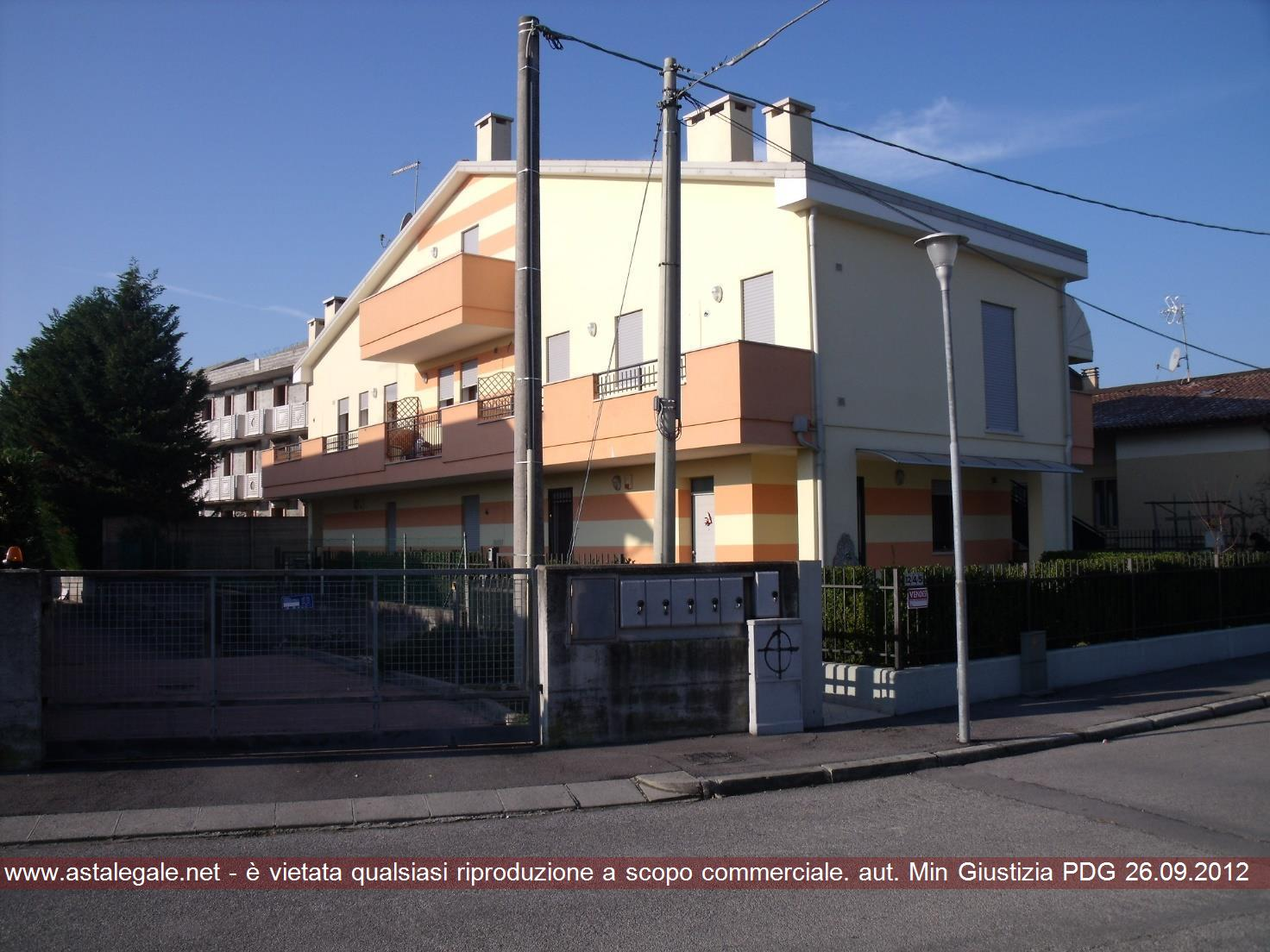 Saccolongo (PD) Via Bettine 12
