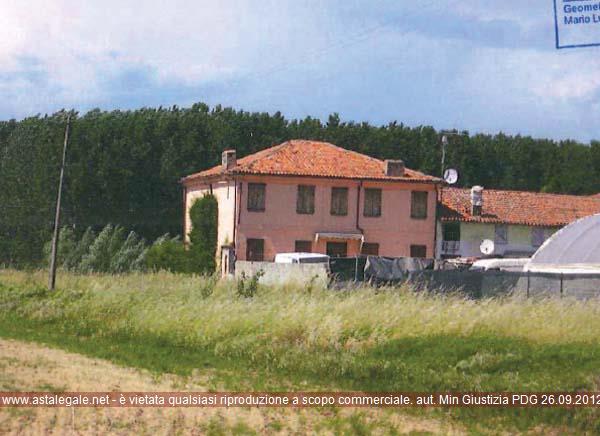 Nogara (VR) Localita' Sant'Agata, Via Sant'Agata