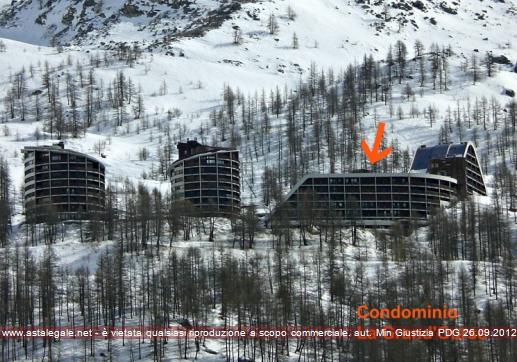 Valtournenche (AO) Localita' Breuil Cervinia - Fraz. Cielo Alto