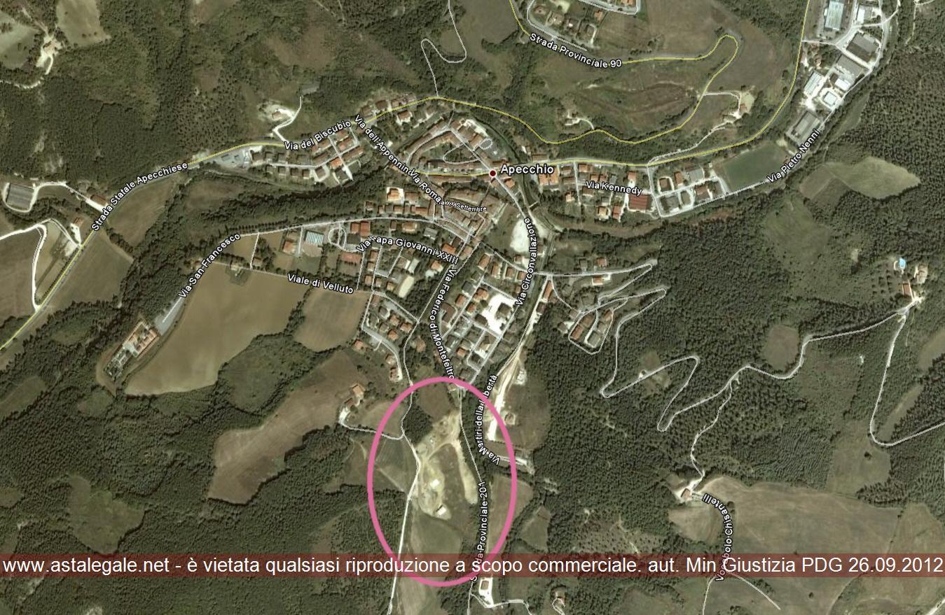 Apecchio (PU) Via Località Rancoso snc