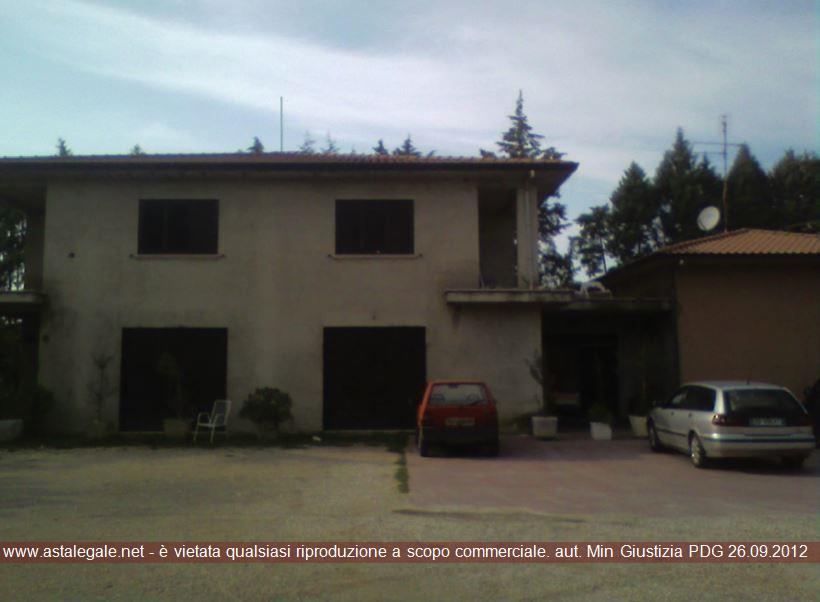 Deruta (PG) Localita' Fanciullata - Via Madonna dei Ranucci