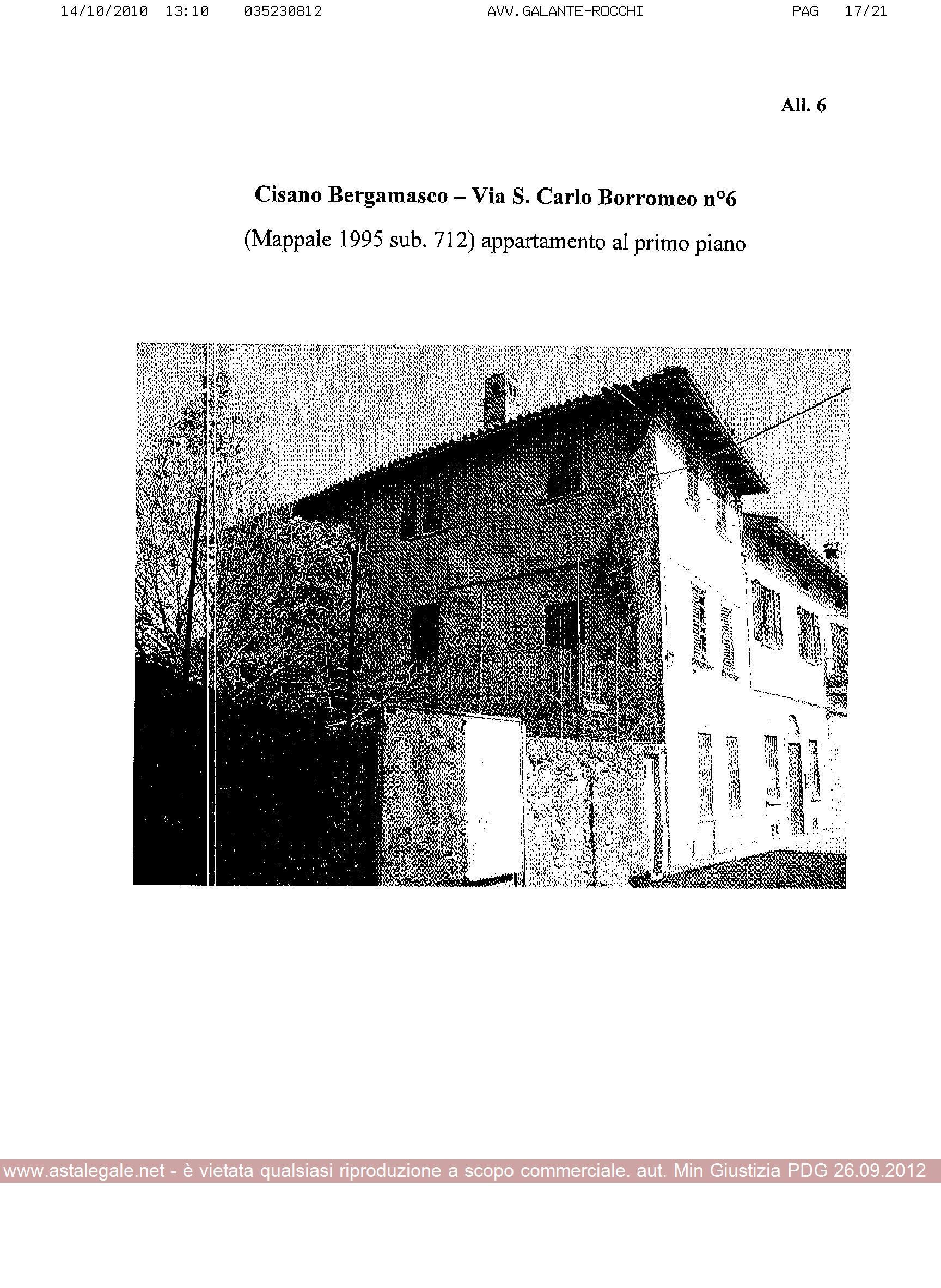 Cisano Bergamasco (BG) Via San Carlo Borromeo - Fraz. Villasola 4