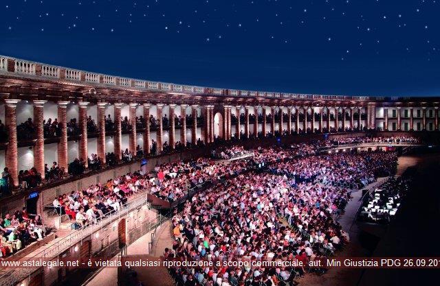 Anteprima foto Piazza Libertà ''Arena Sferisterio'' Macerata Veduta interna