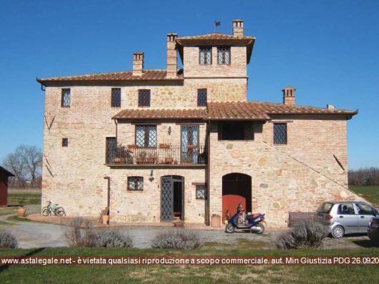 Castiglione Del Lago (PG) Frazione Macchie - Via Castiglionese