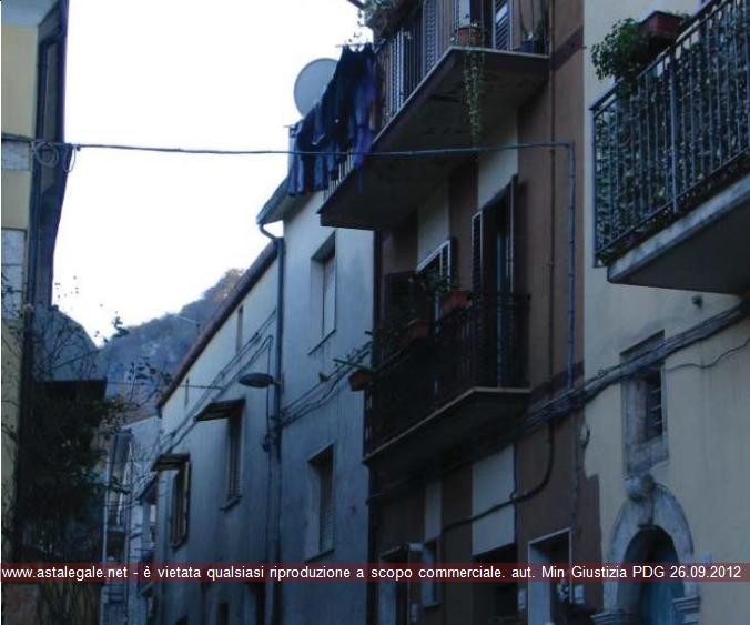 Sesto Campano (IS) Vico Tramontana, Largo San Nicola e Via San Nicola.
