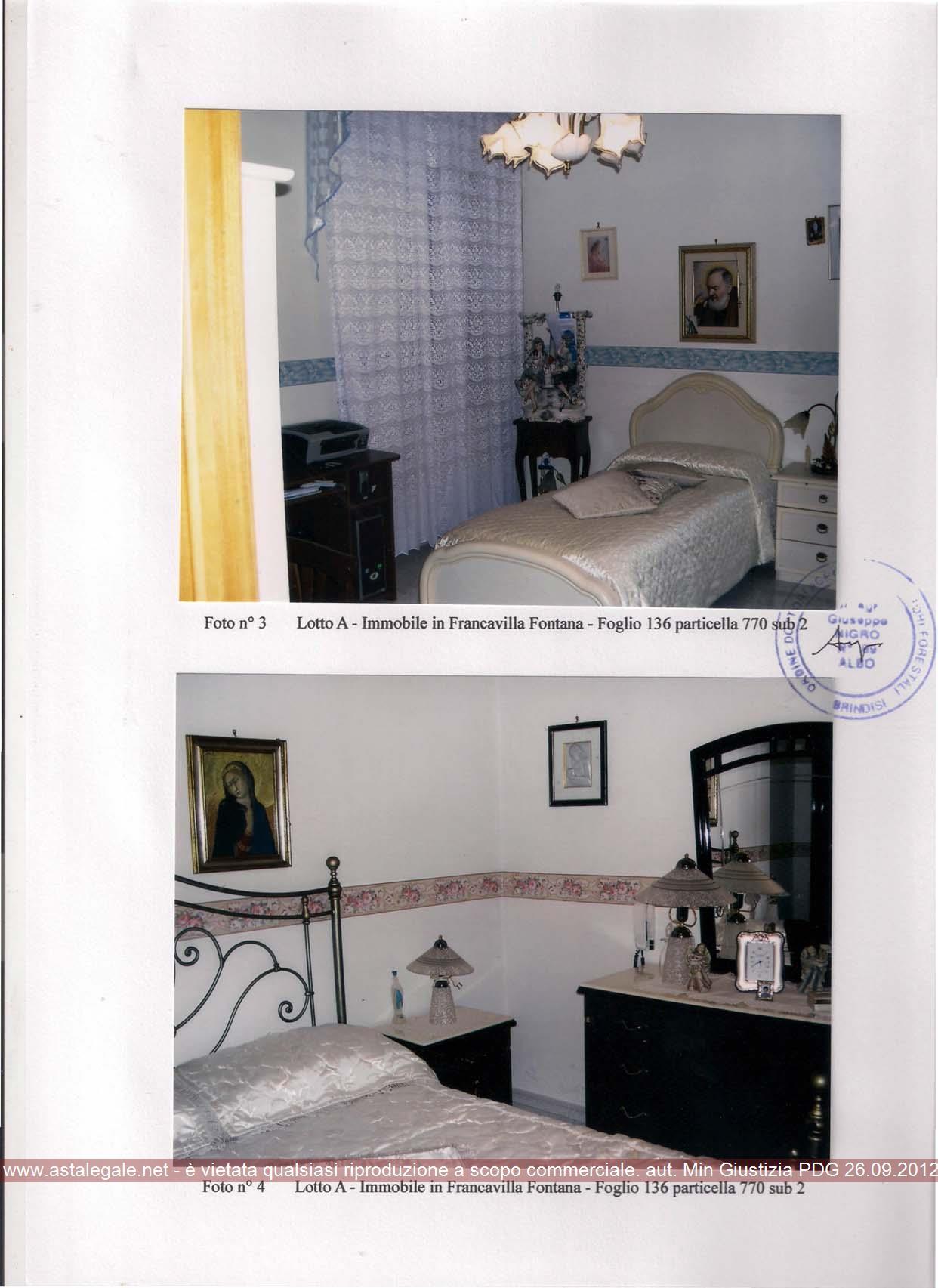 Francavilla Fontana (BR) Via Cesare Battisti  160