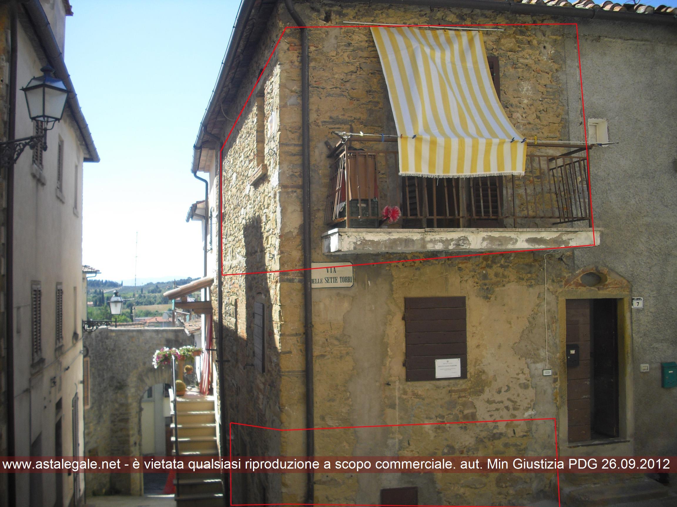Castiglion Fibocchi (AR) Via Sette Torri 7