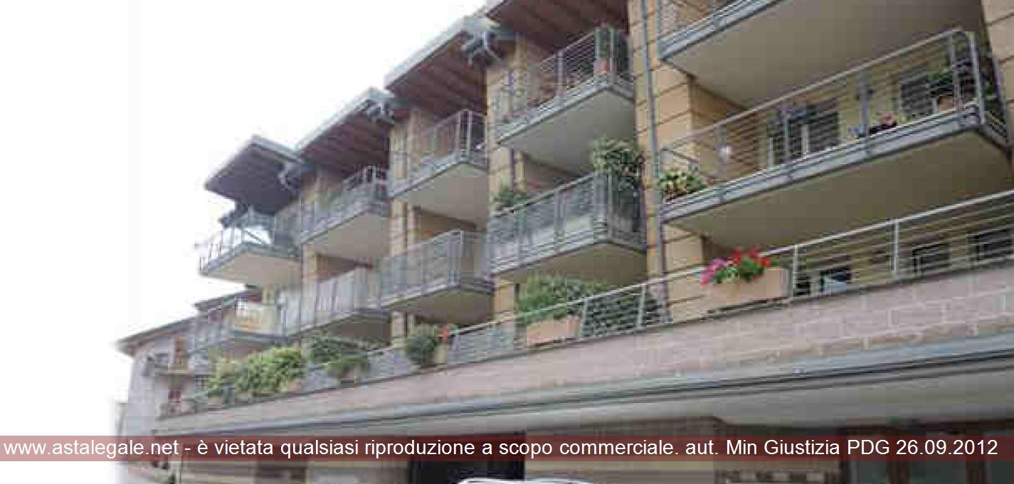 Trento (TN) Zona residenziale di Tavernaro - Via per Villamontagna