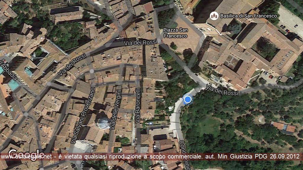Siena (SI) Via del Fosso – Via Lucherini