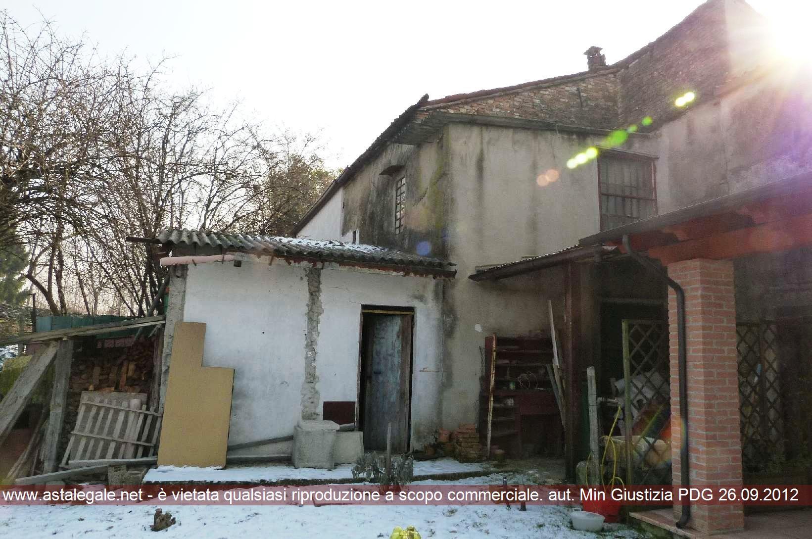 Rubano (PD) Localita' Sarmeola, via Mazzini 42