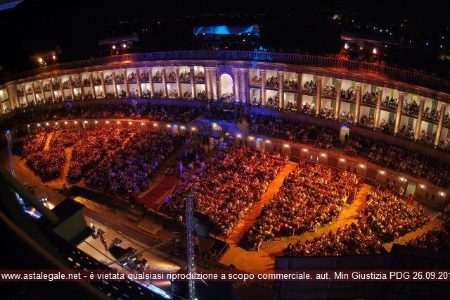 Anteprima foto Piazza Libertà ''Arena Sferisterio'' Macerata Veduta interna dall'alto