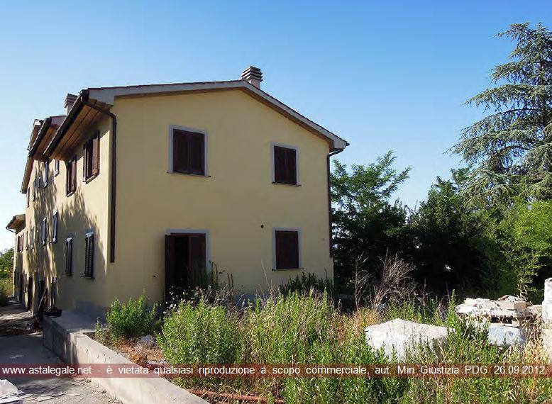 Cortona (AR) Frazione Montecchio - centro abitato