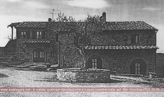 Gambassi Terme (FI) Localita' Montignoso - Casa al Gabbro lungo Str. Prov. Volterrana 27