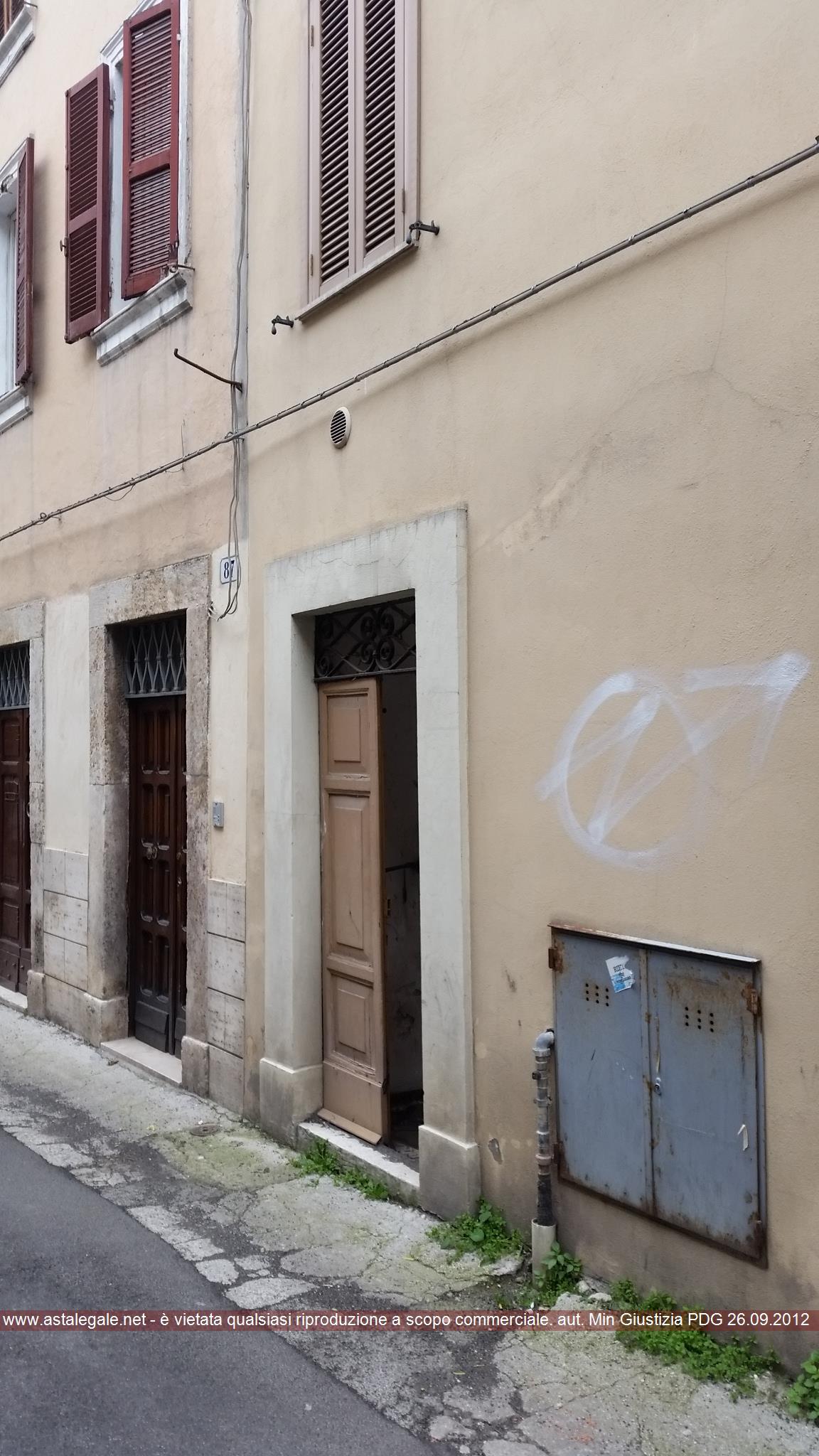Rieti (RI) Via della Ripresa 81