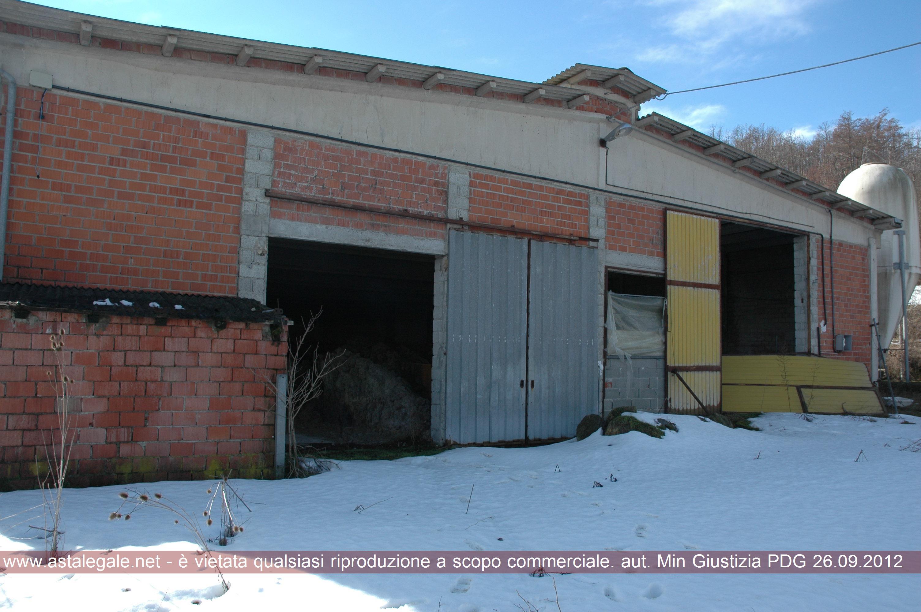 Albareto (PR) Localita' Cacciarasca - Rio del Cogno