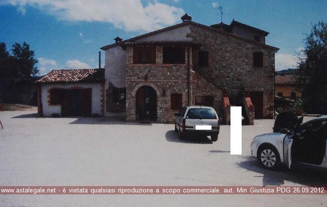 Umbertide (PG) Localita' Montecastelli - Voc. Petriccio