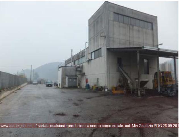 Tufo (AV) Localita' Branete - Zona Industriale