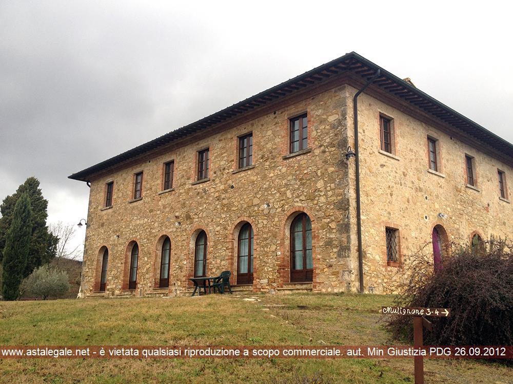 Casole D'elsa (SI) Localita' Podere Mulignone