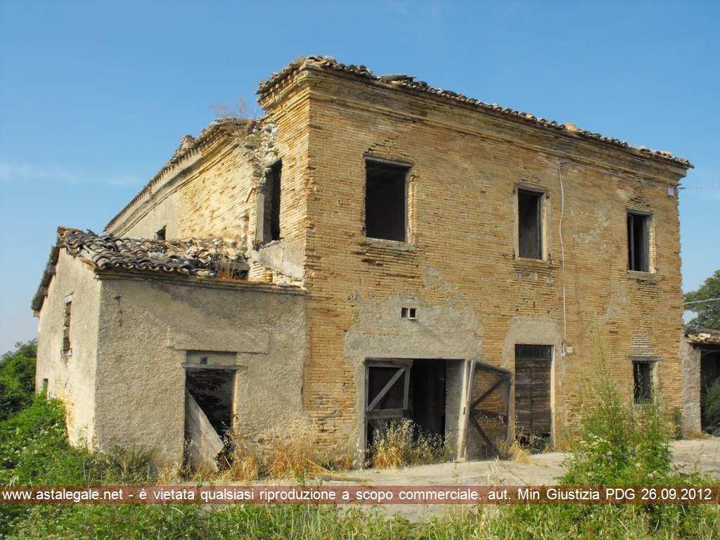 Pergola (PU) Localita' Montesecco - Strada Vicinale Pian di Pepe