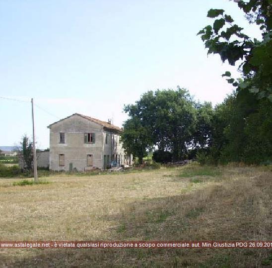 Pesaro (PU) Localita' Villa Ceccolini  - Via Lago Maggiore e la Strada Prov.le Montelabbatese
