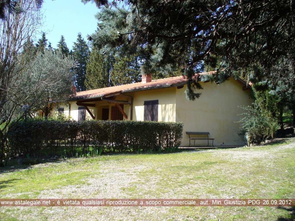 Figline Valdarno (FI) Via Montelfi - Fraz. Tracolle - Loc. Loppiano