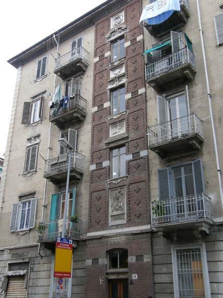 Torino (TO) Via MONTE ROSA 61 angolo via Scarlatti
