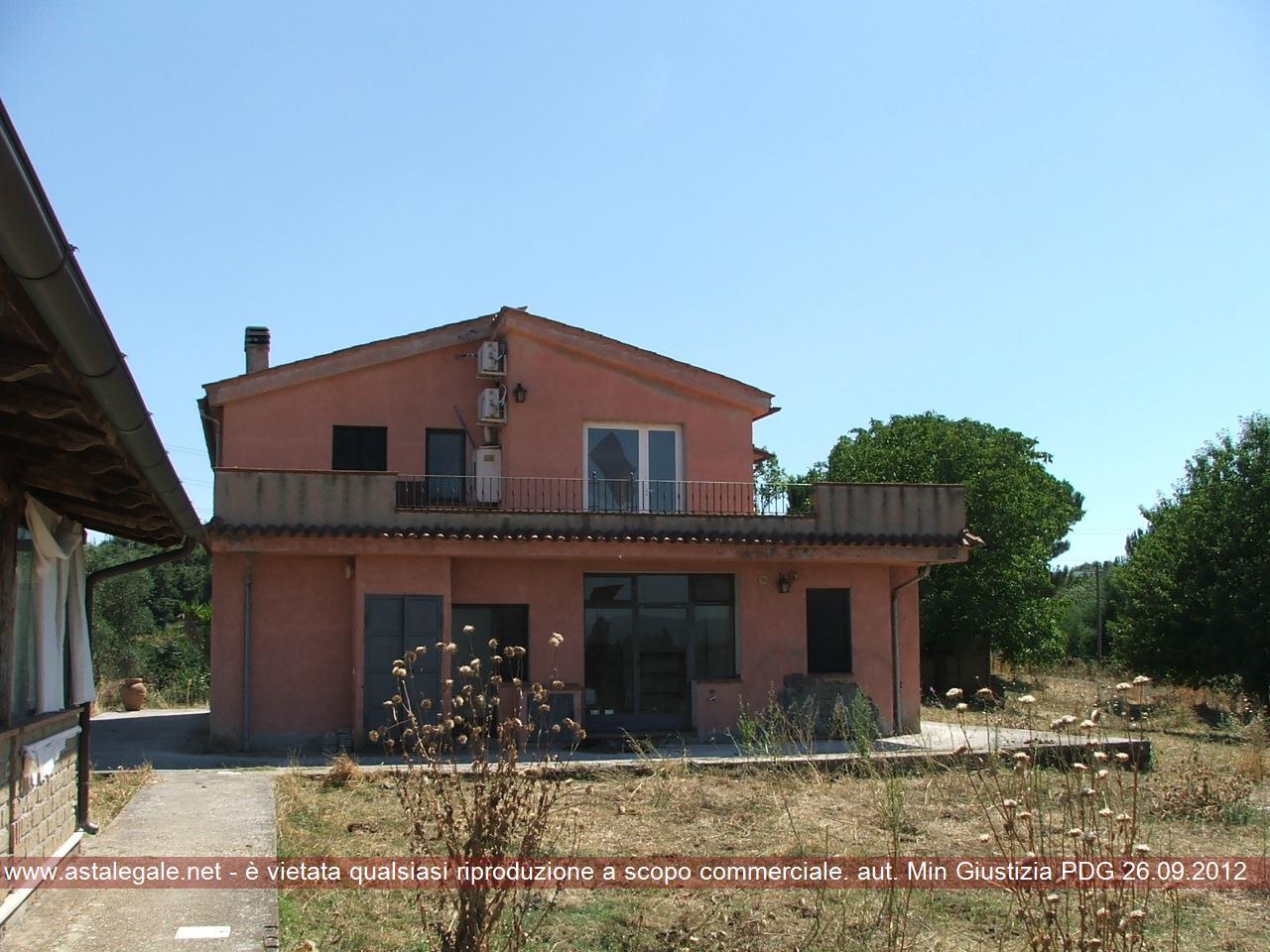 Sutri (VT) Localita' Monte Topino - Via Monte Topino 21