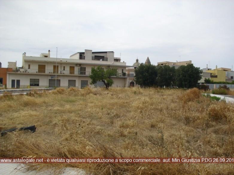 Villa Castelli (BR) tra la Via della Pace e la Via Kalivia