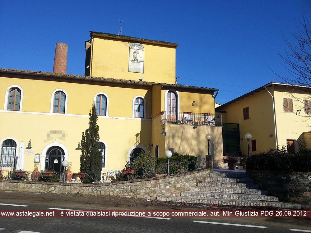 Castelnuovo Berardenga (SI) Localita' Colonna del Grillo