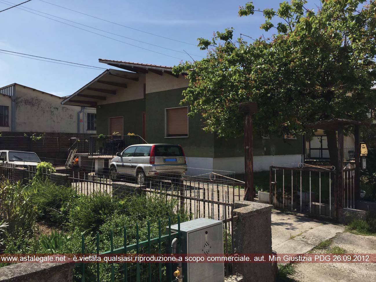 Brendola (VI) Quartiere Pedocchio, Via F. Crispi 11