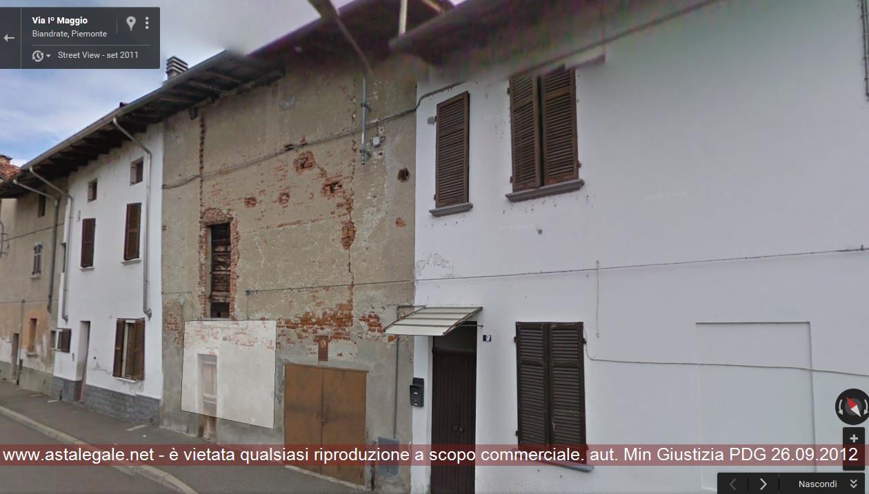 Biandrate (NO) Via I° Maggio 7