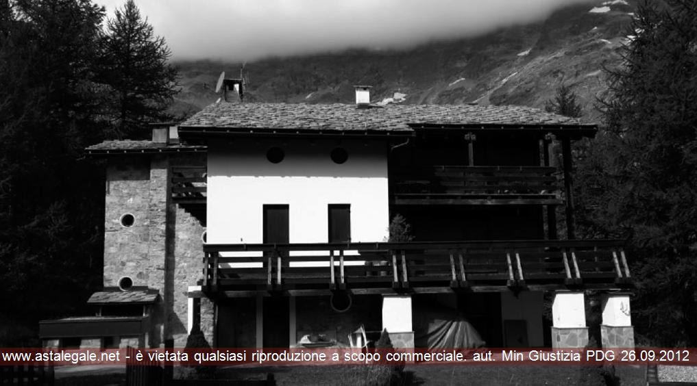 Valtournenche (AO) Frazione Breuil Cervinia - Strada Cristallo