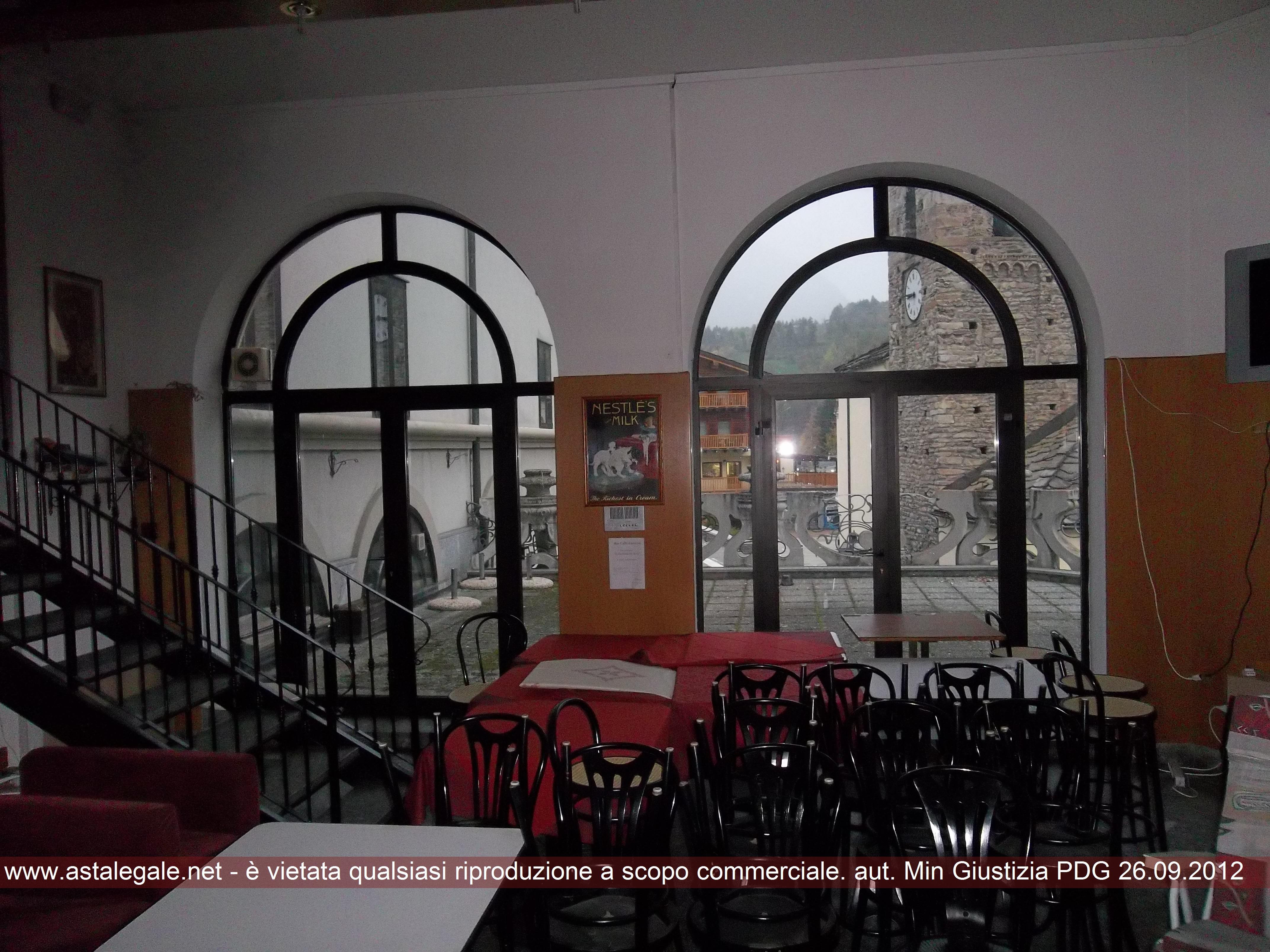 Pre'-saint-didier (AO) Frazione Capoluogo - Piazza Vittorio Emanuele II