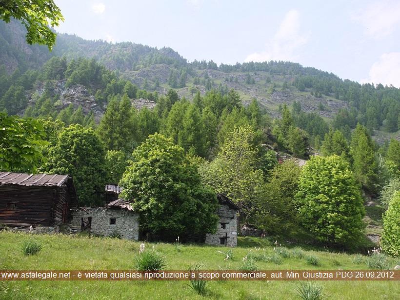 Torgnon (AO) Localita' Levaz