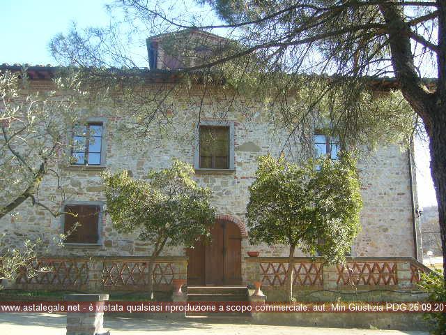 Bucine (AR) Frazione Badia Agnano, Località Greta n° 1