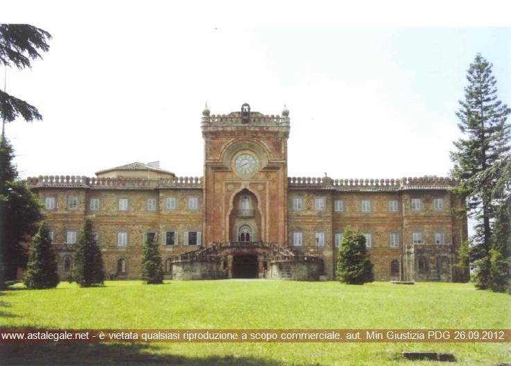 Reggello (FI) Localita' Leccio - Tra S.R. 69 di Val D'Arno e terreni collinari prospicenti il Torrente Marnia
