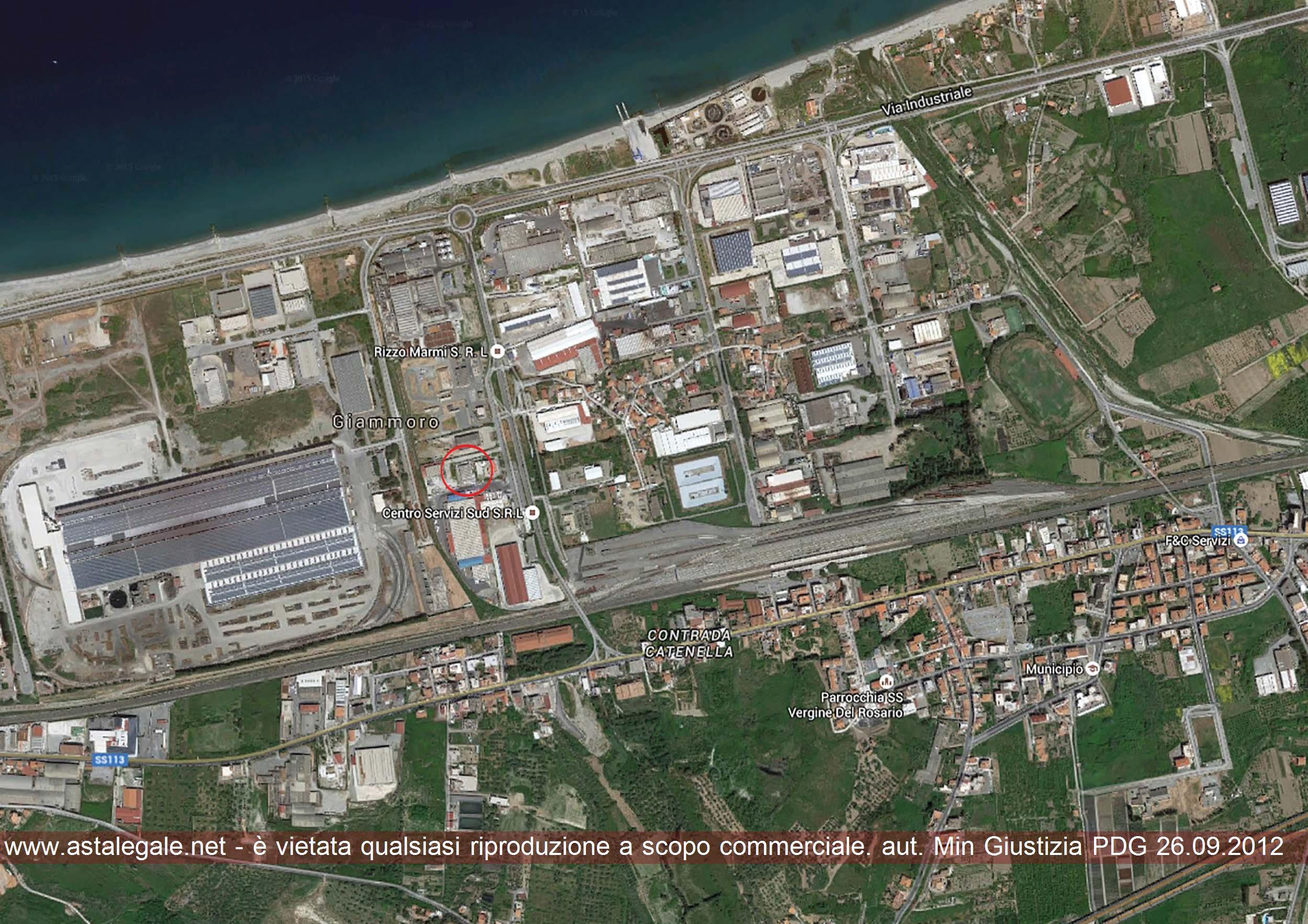 Pace Del Mela (ME) Zona Industriale Giammoro, Diramazione Viaria C,