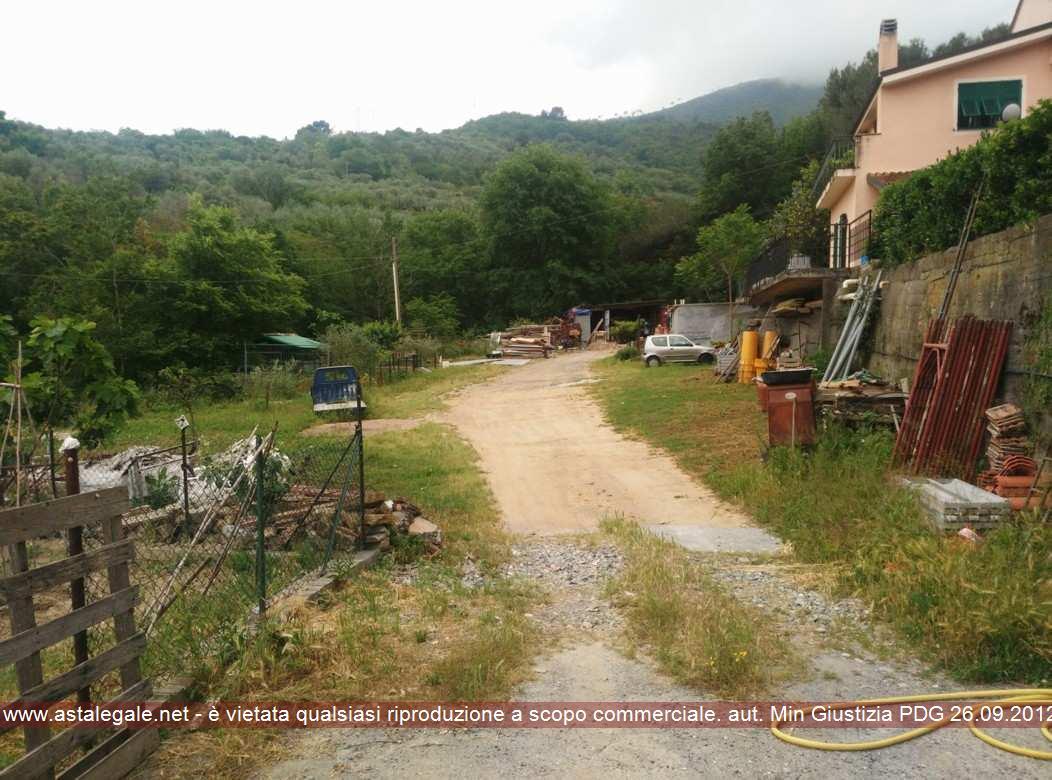 Albenga (SV) Frazione San Fedele, Reg. Marisane, Via Ciambellino