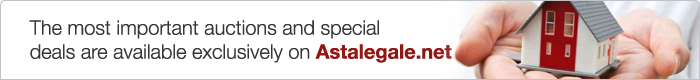 The most important auctions and special offers are available exclusively on Astalegale.net